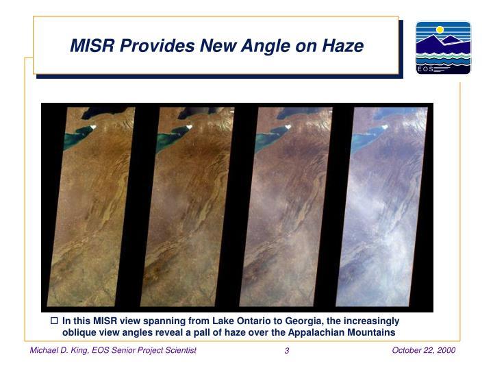 MISR Provides New Angle on Haze