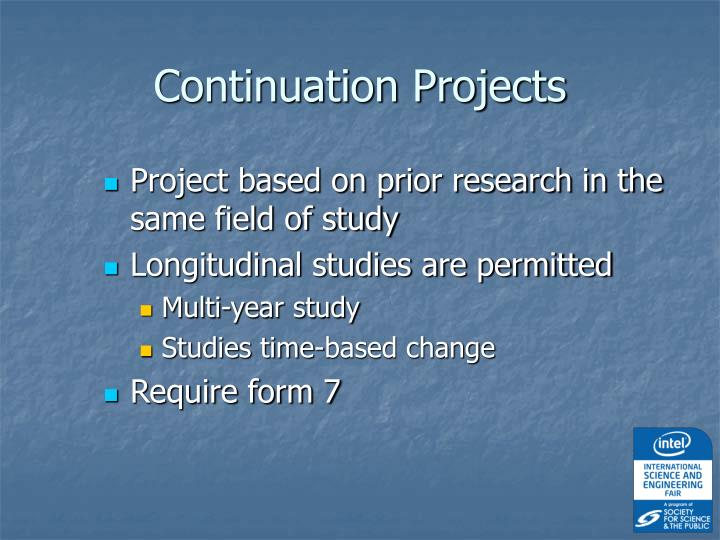 Continuation Projects