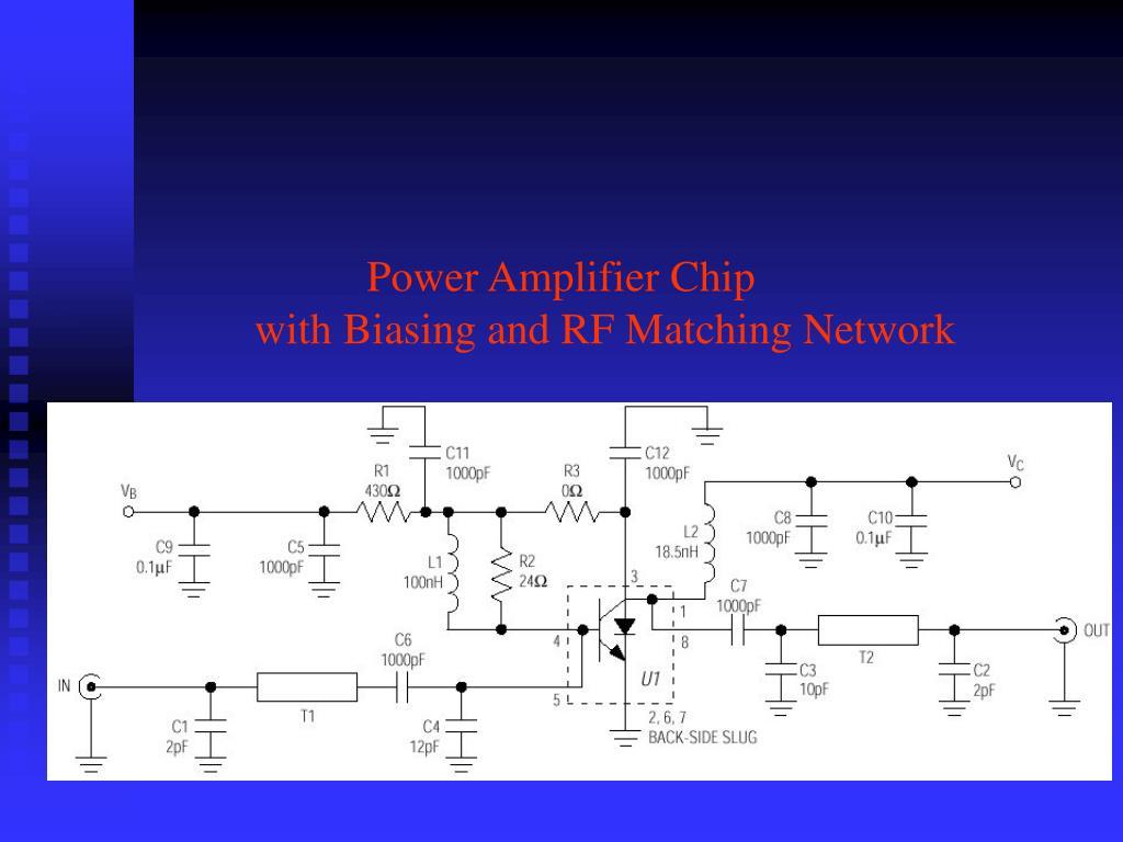 Power Amplifier Chip