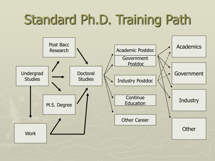 Standard Ph.D. Training Path