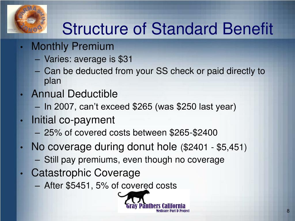 Structure of Standard Benefit