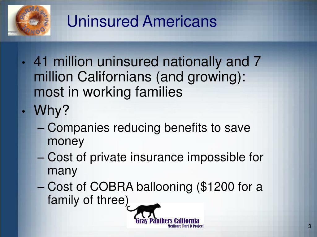 Uninsured Americans