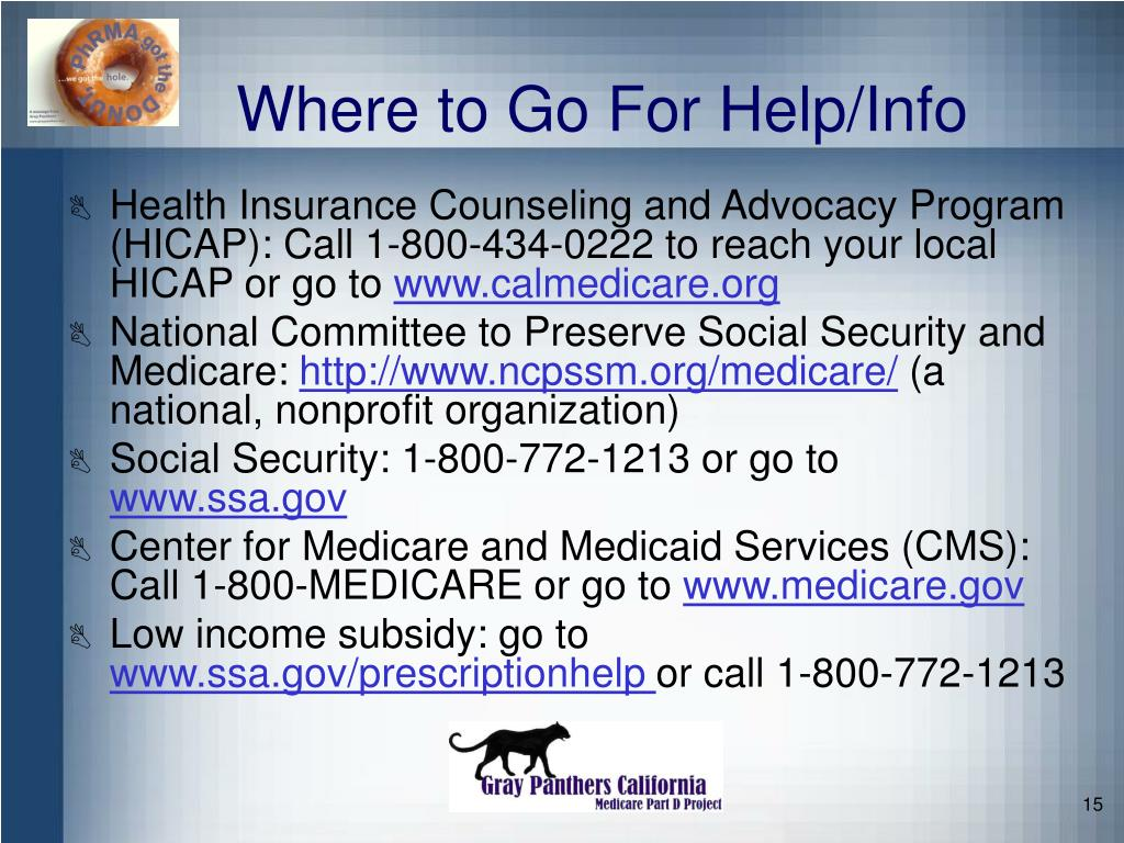 Where to Go For Help/Info