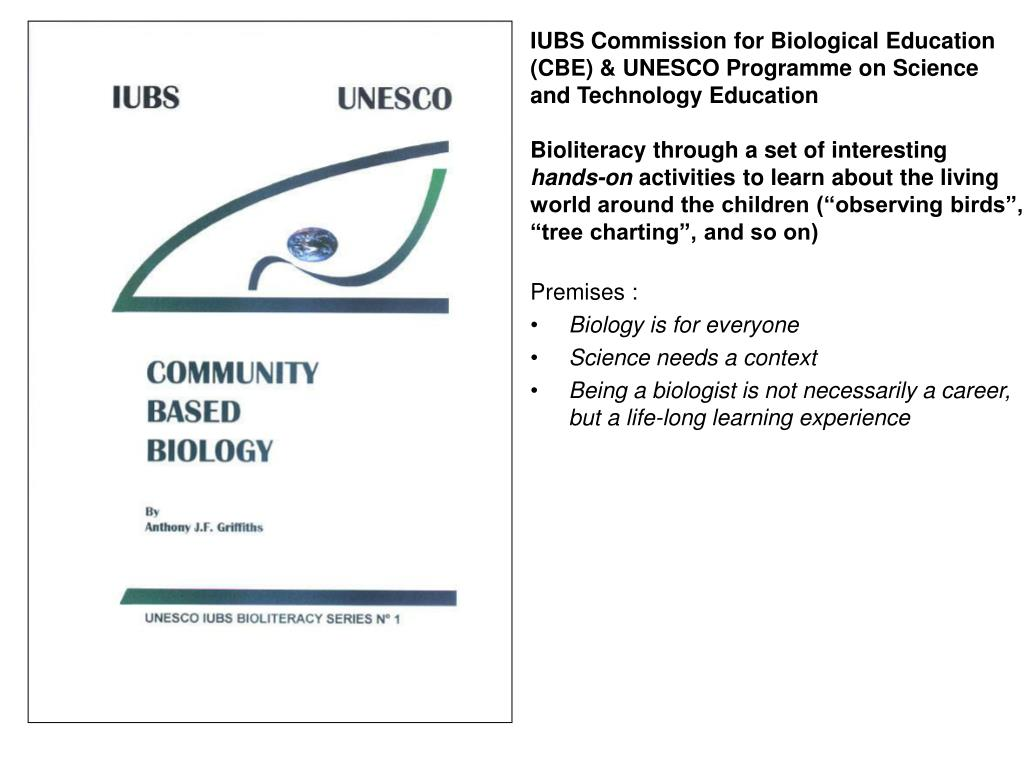 IUBS Commission for Biological Education