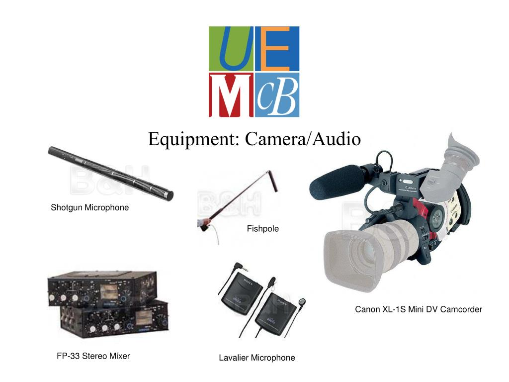 Equipment: Camera/Audio