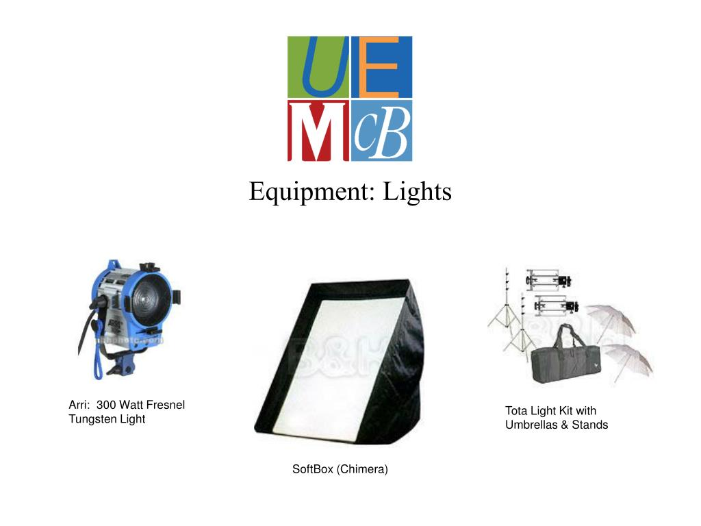 Equipment: Lights