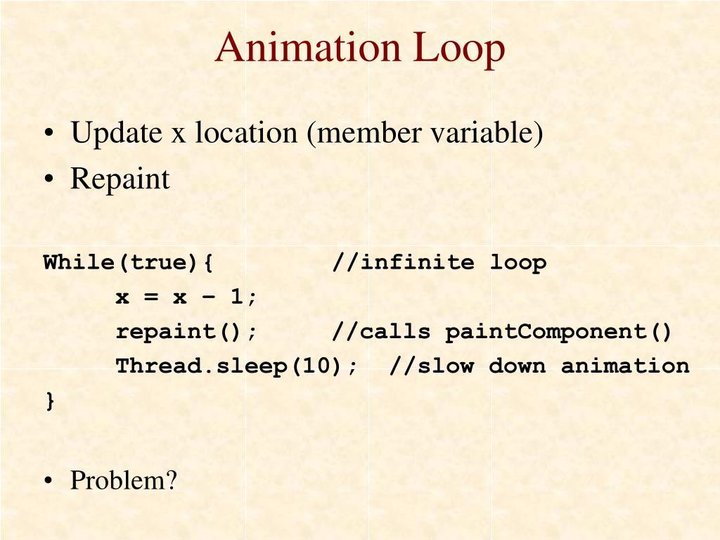 Animation Loop