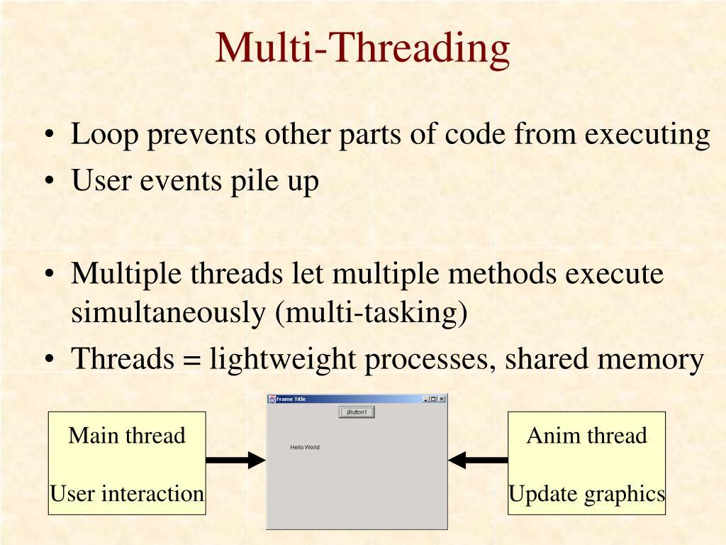 Multi-Threading