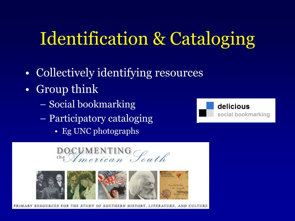 Collectively identifying resources