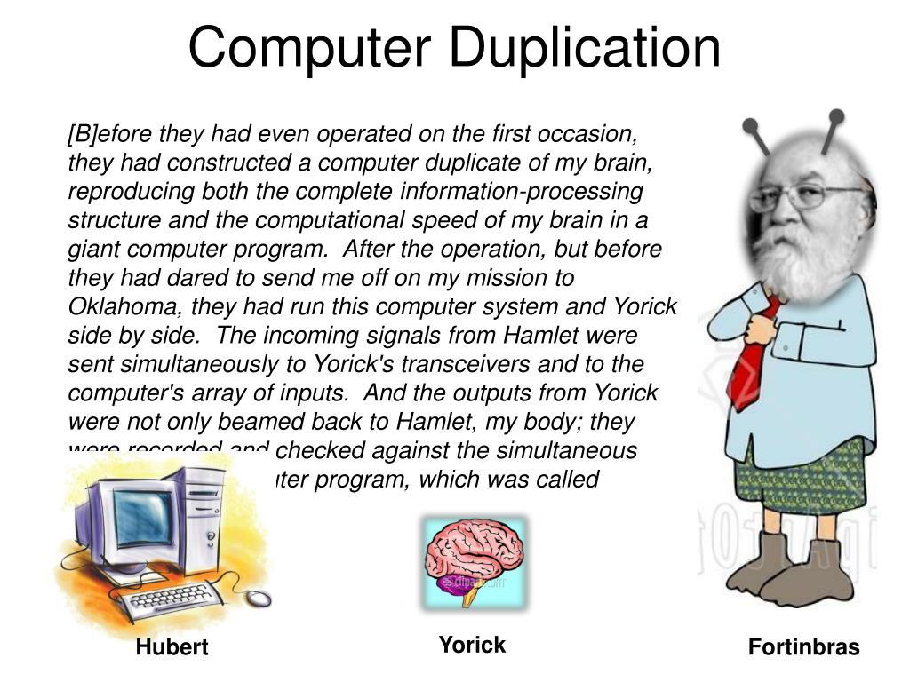 Computer Duplication