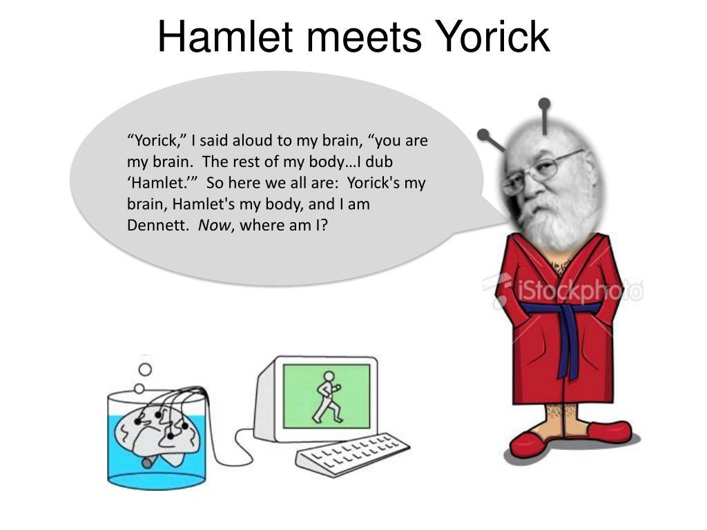 Hamlet meets Yorick