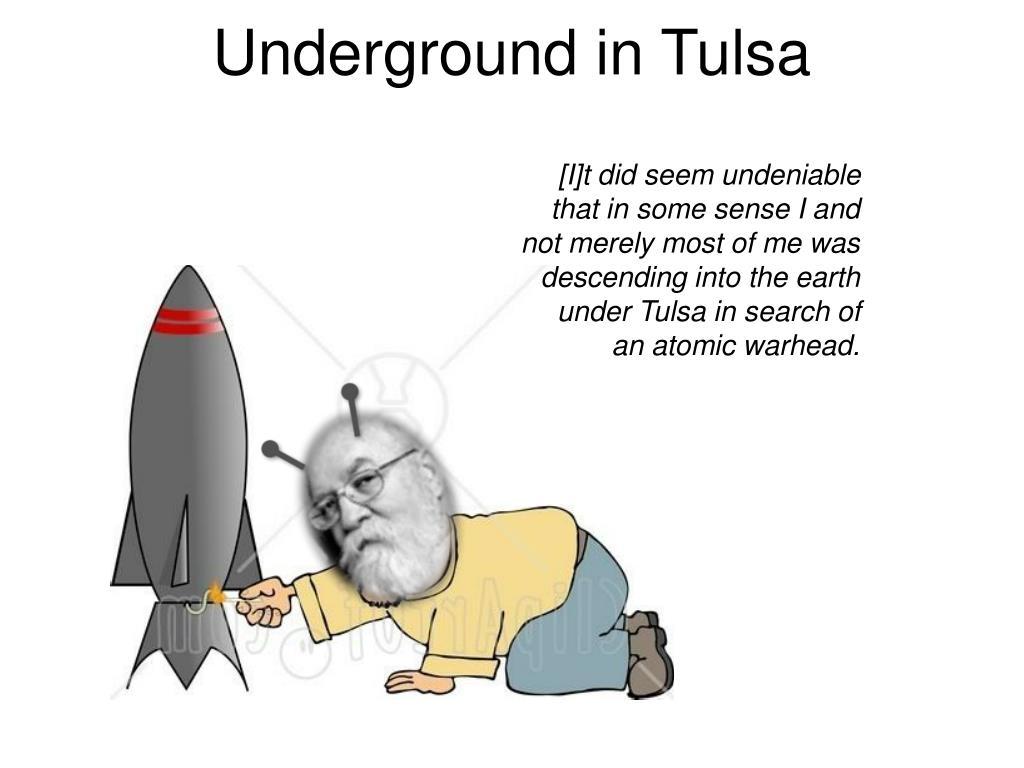 Underground in Tulsa