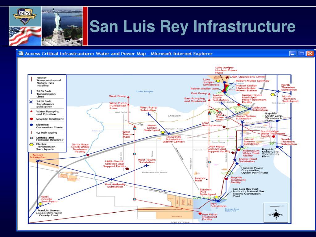 San Luis Rey Infrastructure