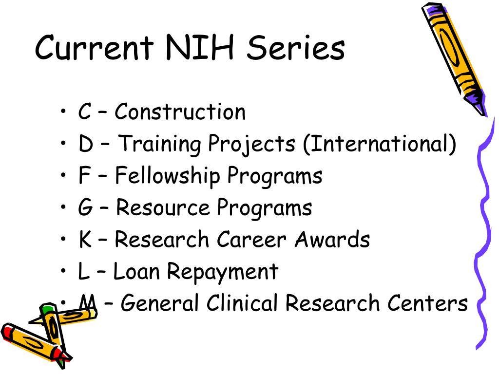 Current NIH Series