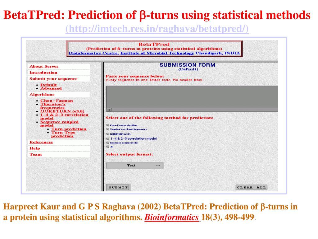 BetaTPred: Prediction of