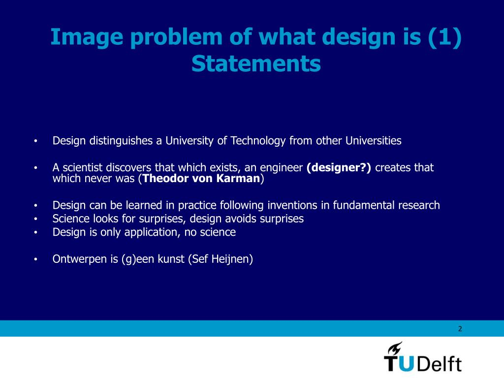 Image problem of what design is (1)