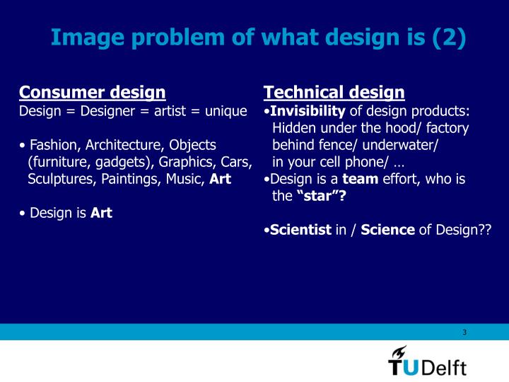 Image problem of what design is 2