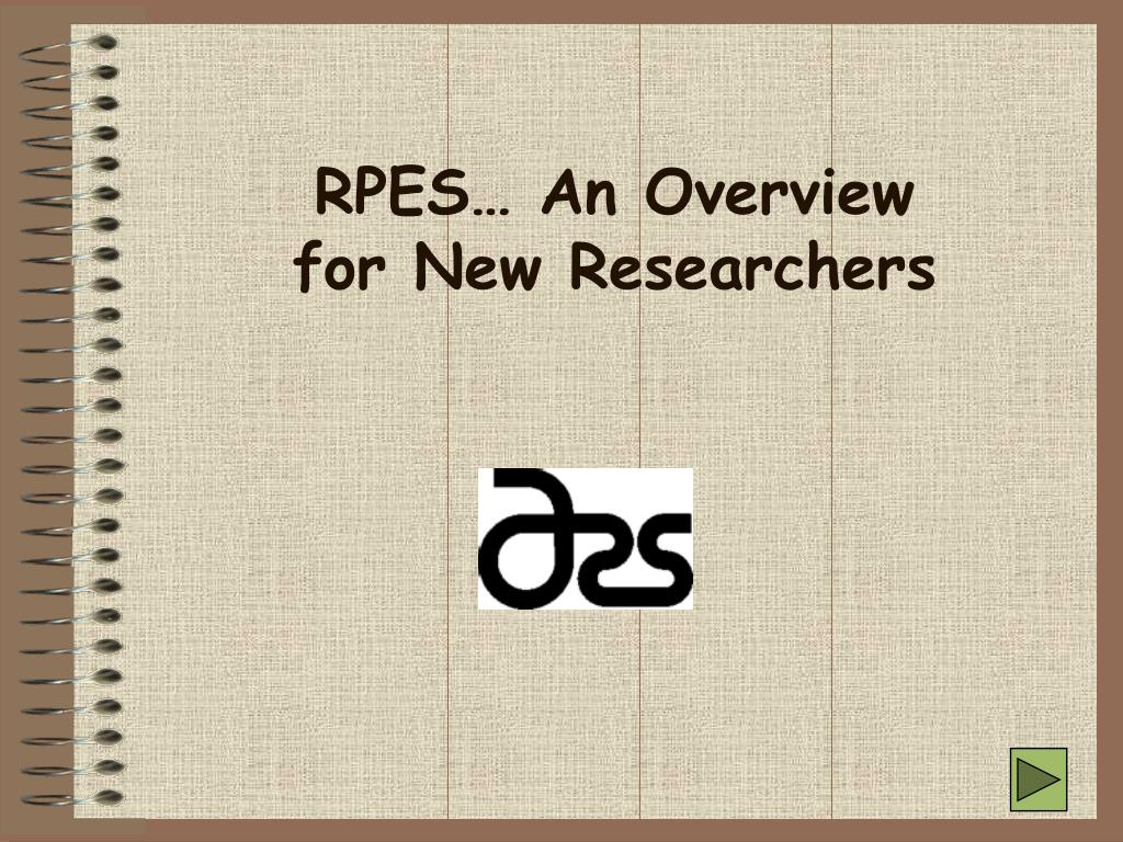 RPES… An Overview