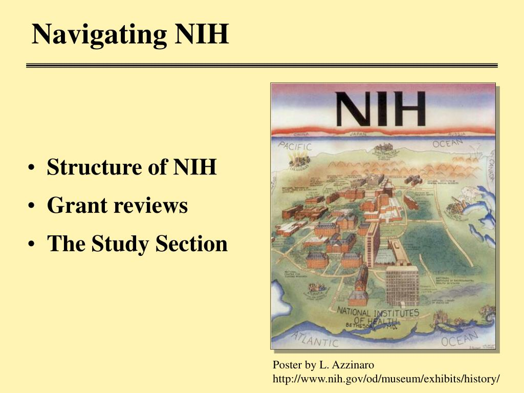 Navigating NIH
