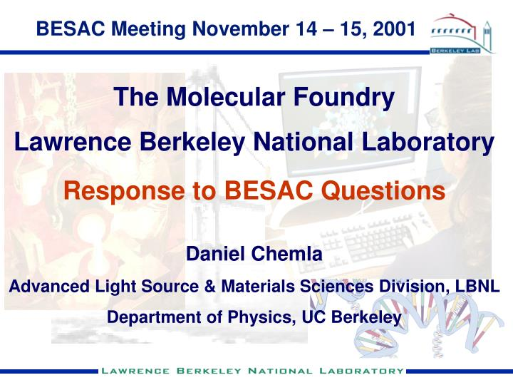 BESAC Meeting November 14