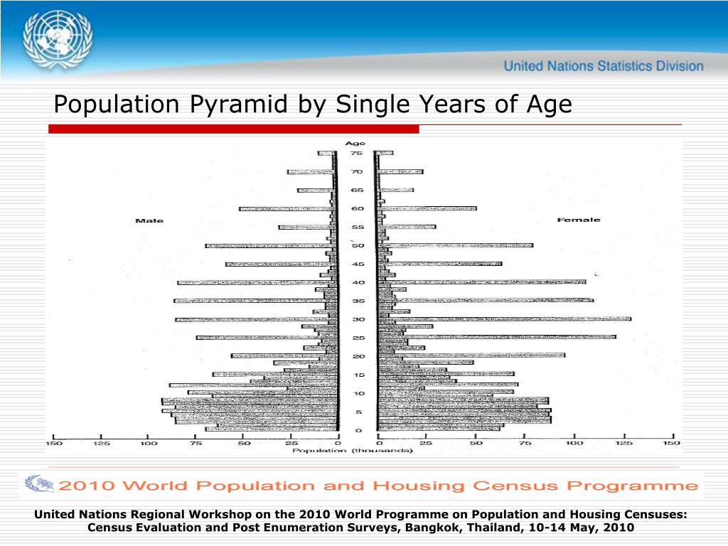 Population Pyramid by Single Years of Age