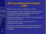 nih loan repayment program lrp41