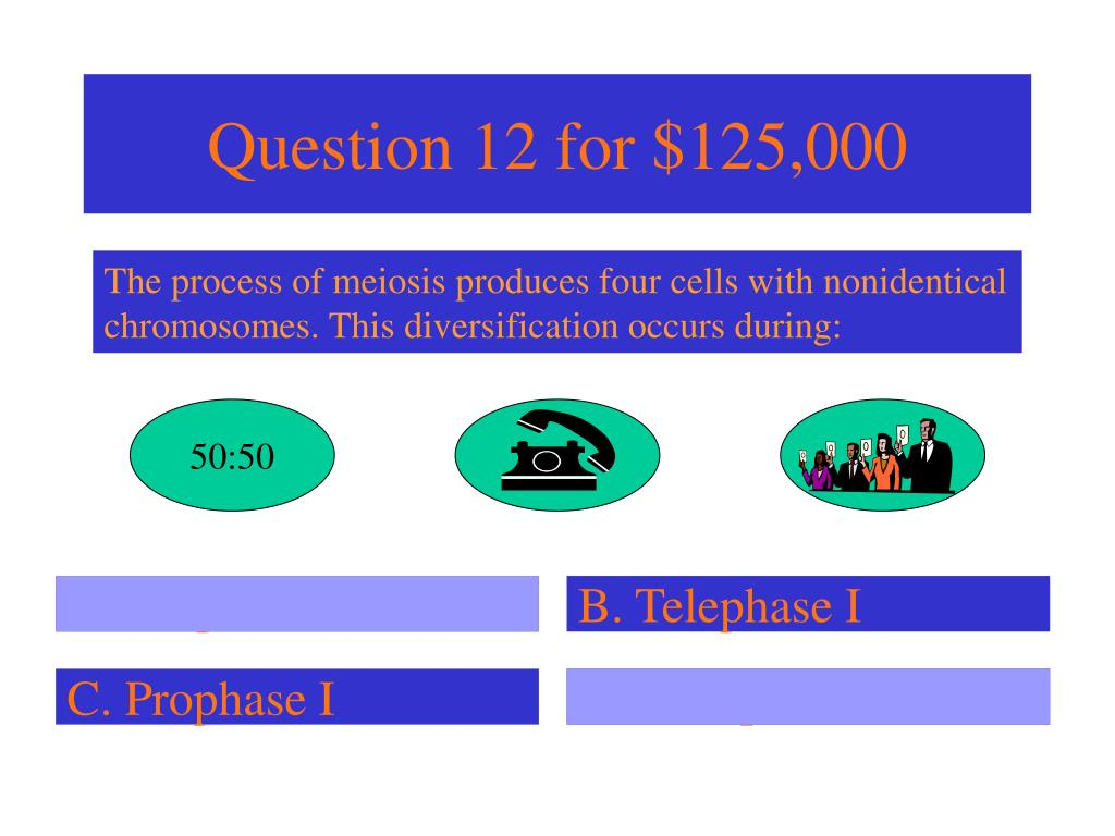 Question 12 for $125,000