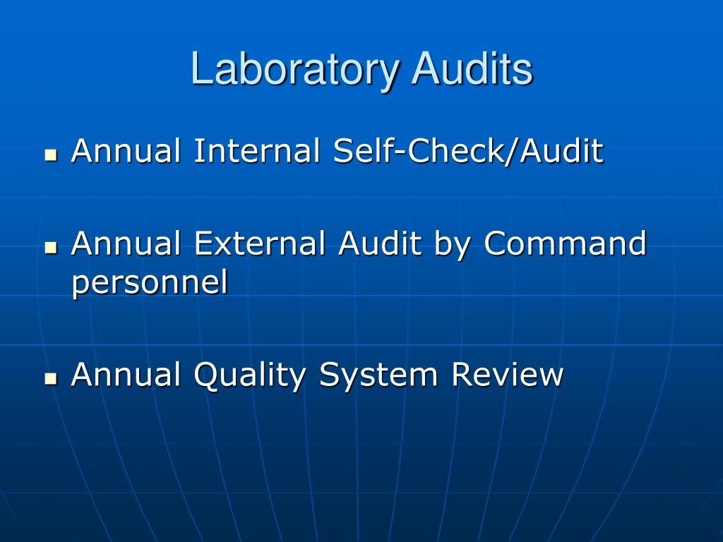 Laboratory Audits