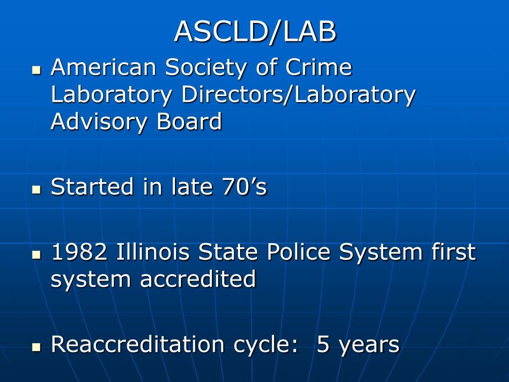 ASCLD/LAB
