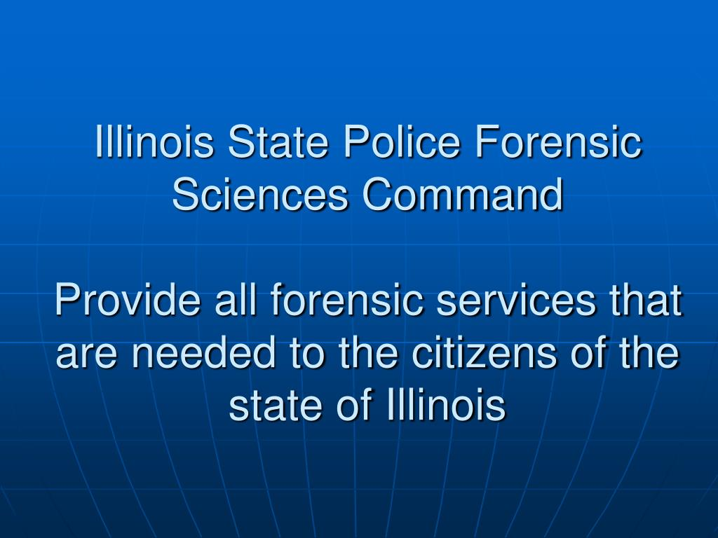 Illinois State Police Forensic Sciences Command