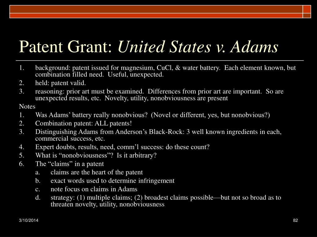 Patent Grant: