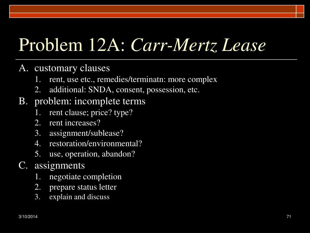 Problem 12A: