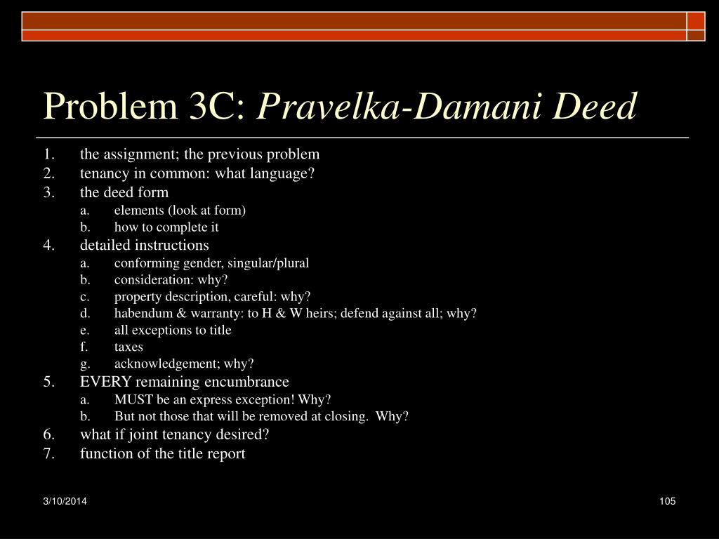 Problem 3C: