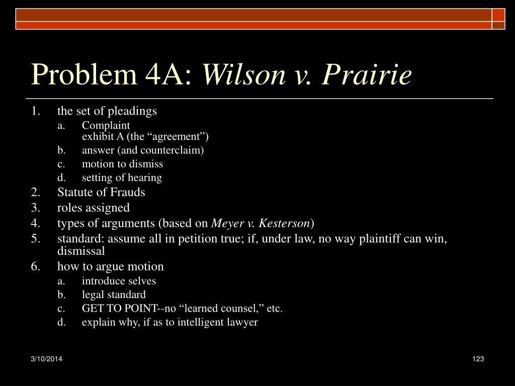 Problem 4A: