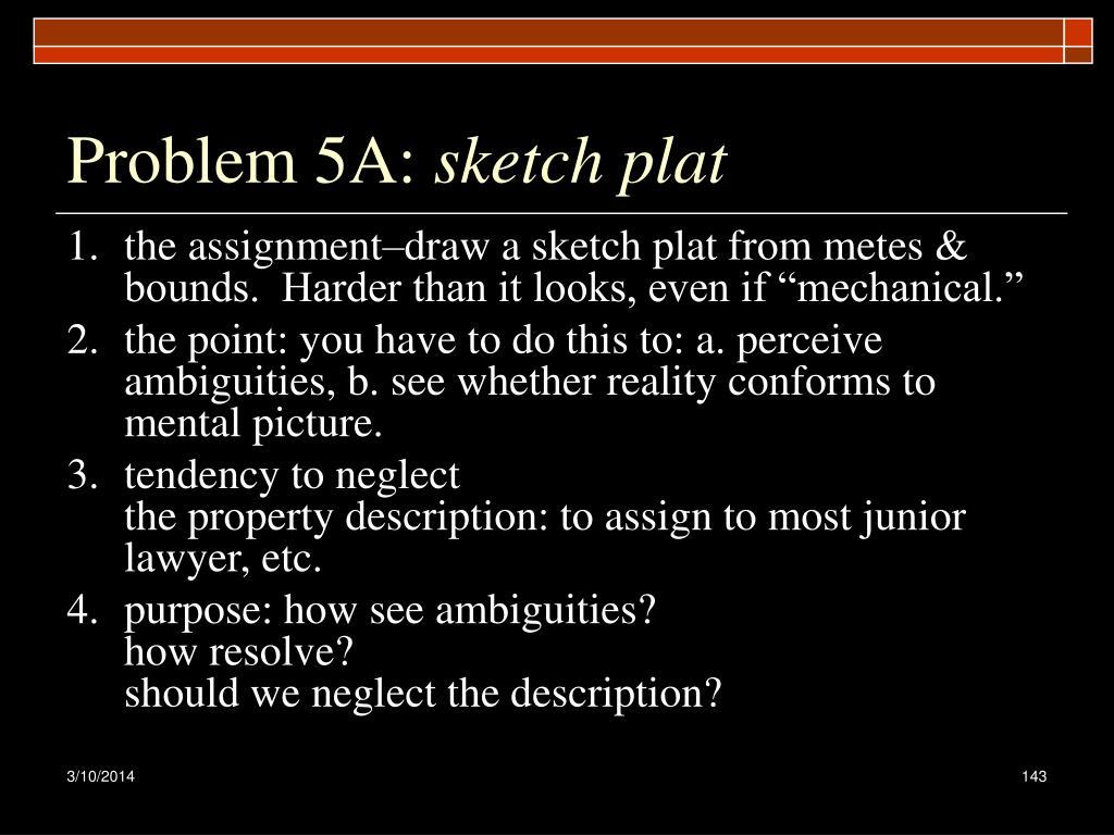 Problem 5A: