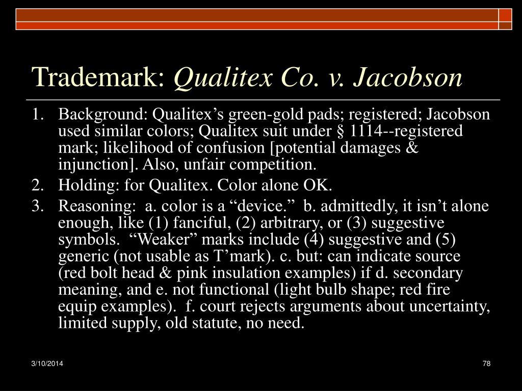Trademark: