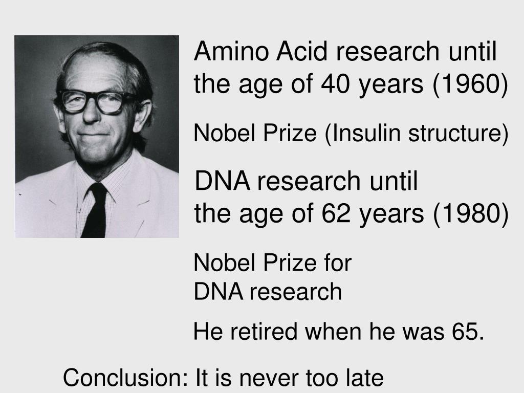 Amino Acid research until