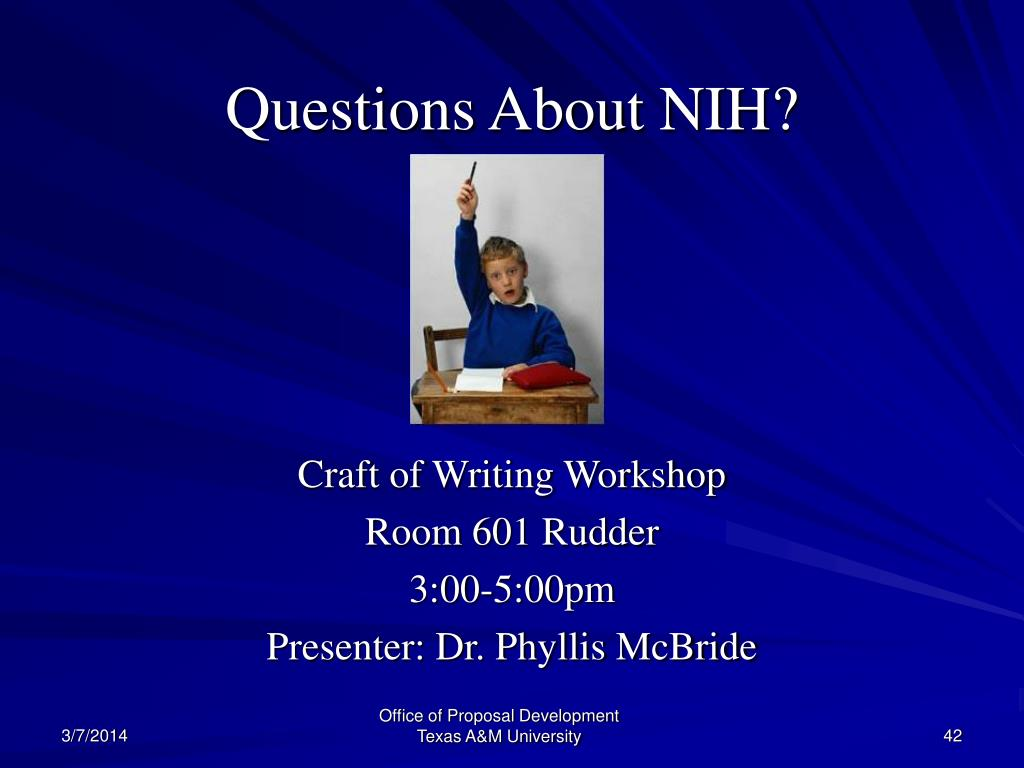 Questions About NIH?