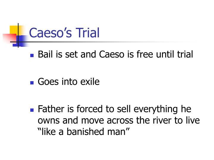 Caeso's Trial