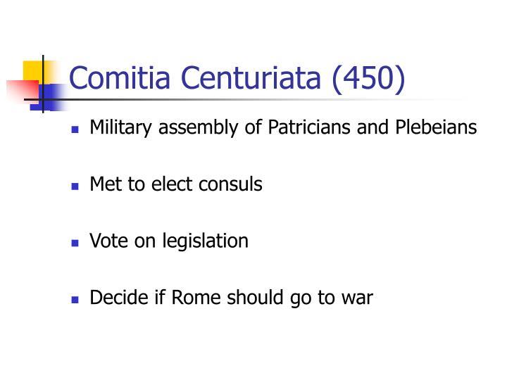 Comitia Centuriata (450)