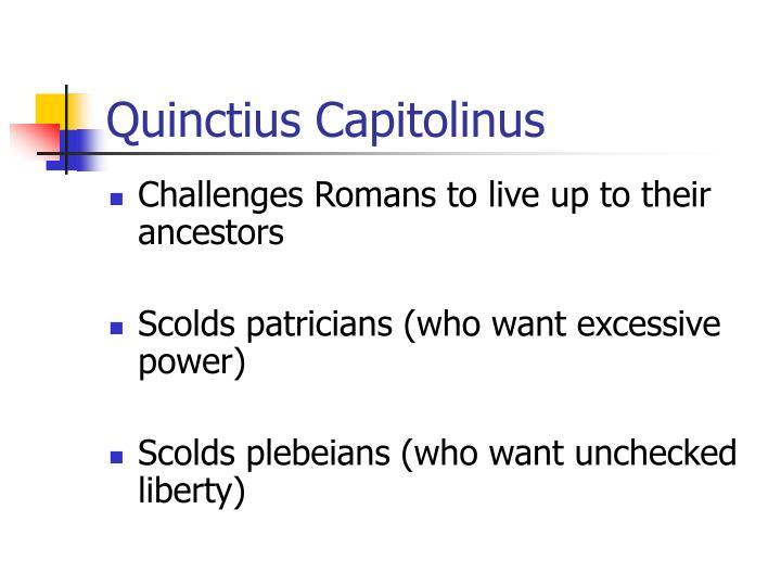 Quinctius Capitolinus
