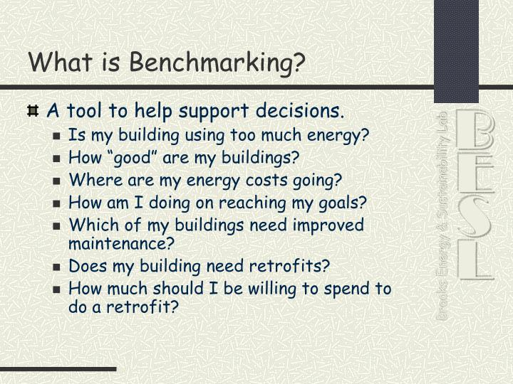 What is benchmarking1