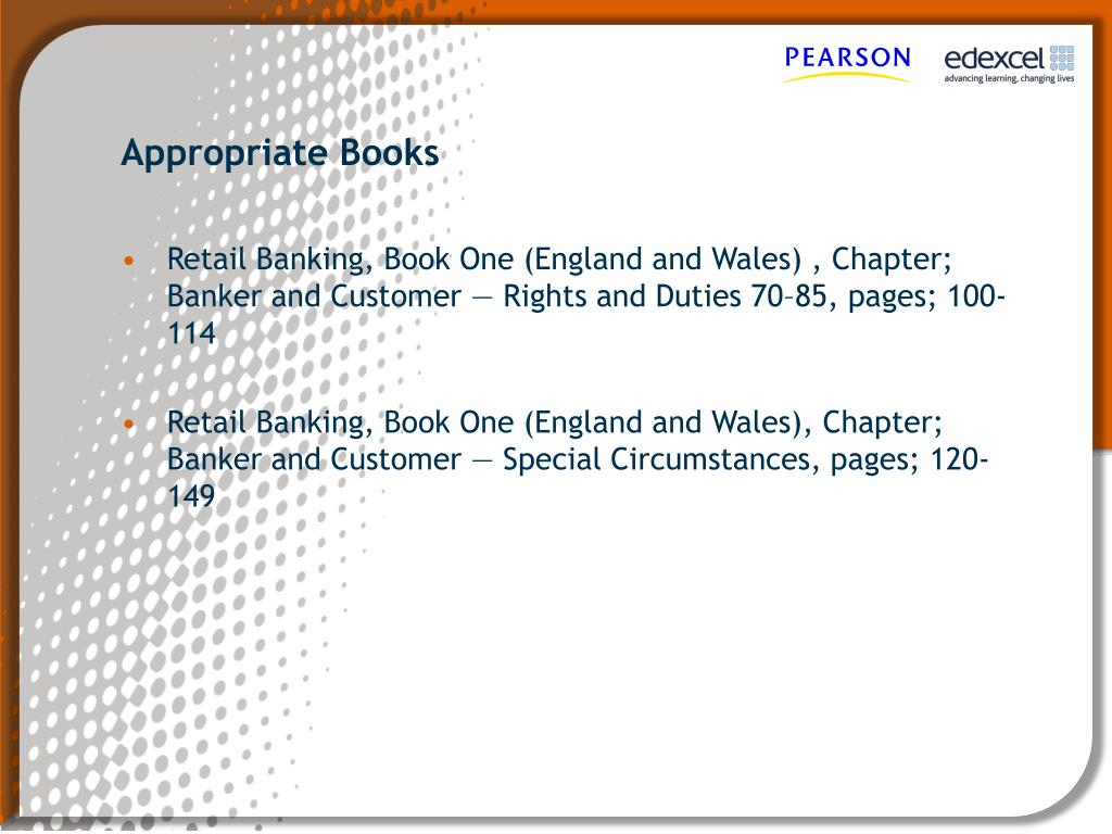 banker customer relationship banking law books