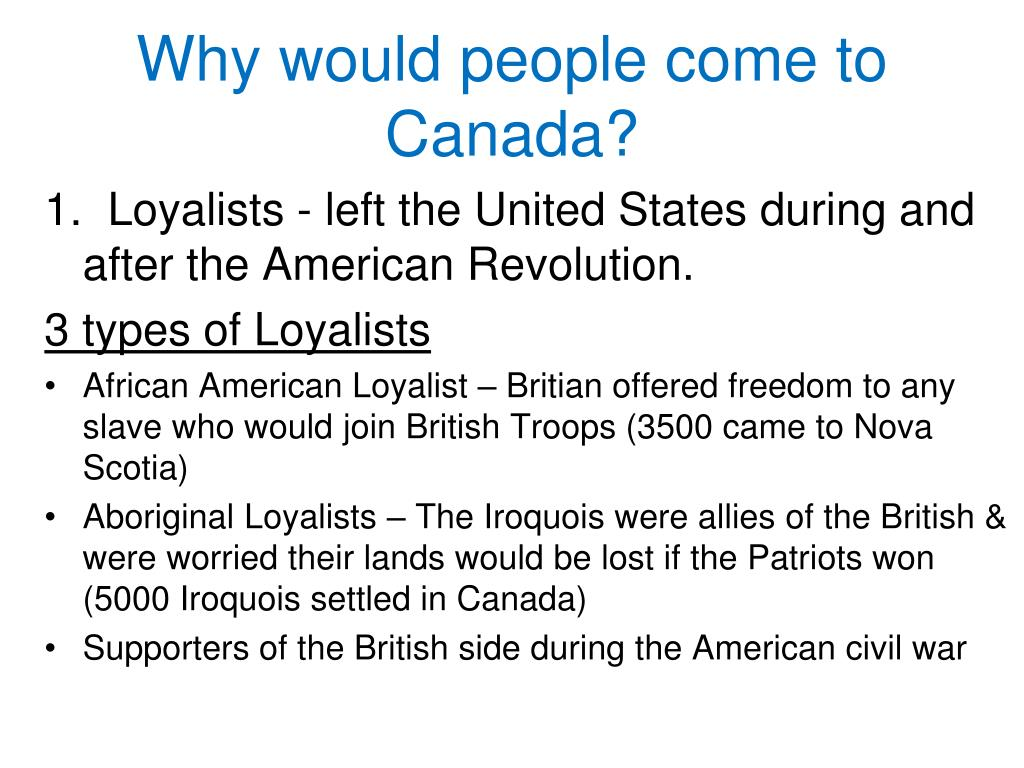 the loyalists and their arrival British loyalists in the american revolution _____ a thesis  lives of black loyalists after their arrival in nova scotia including their new trades the life of boston.