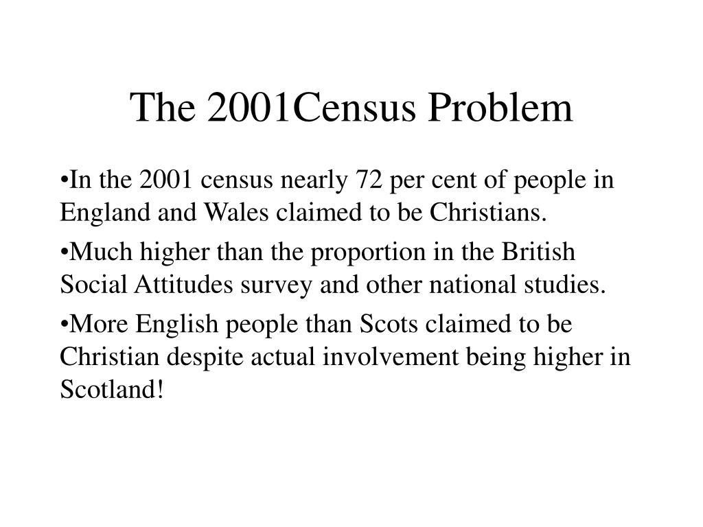 The 2001Census Problem