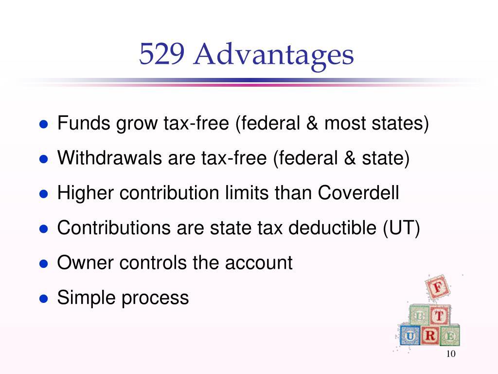 529 Advantages