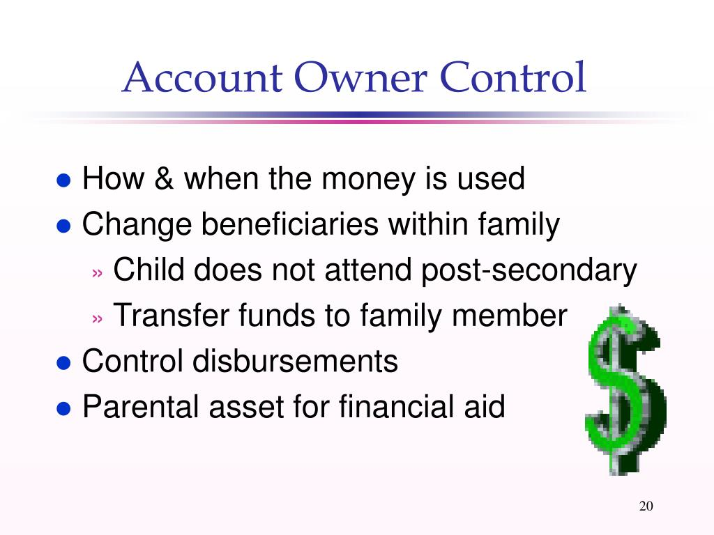 Account Owner Control