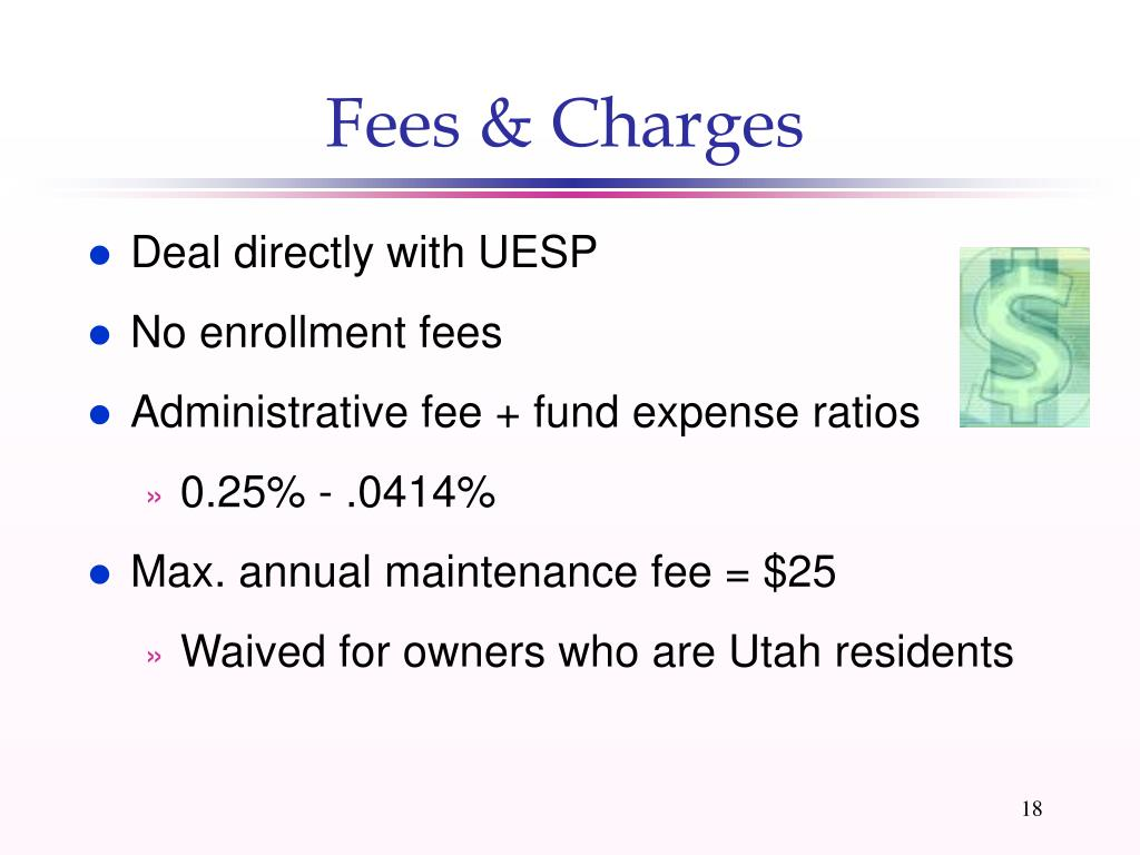 Fees & Charges