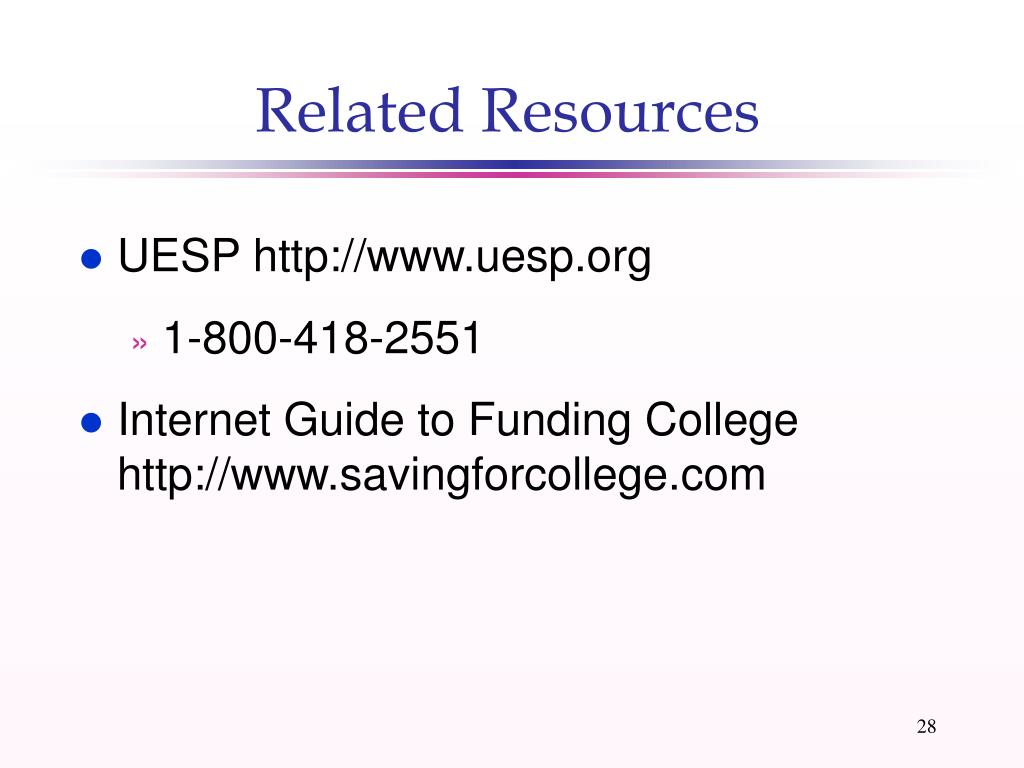 Related Resources