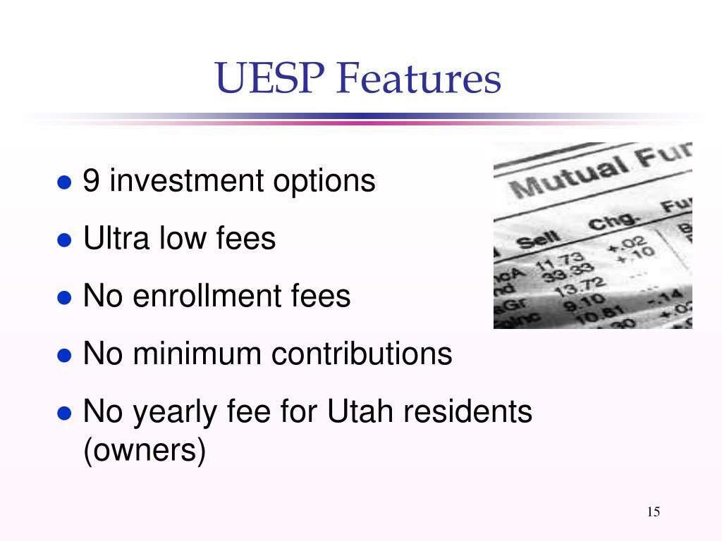 UESP Features